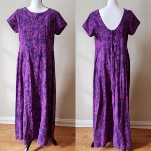 Ui-Maikai 60s Groovy Original Hawaiian Maxi Dress